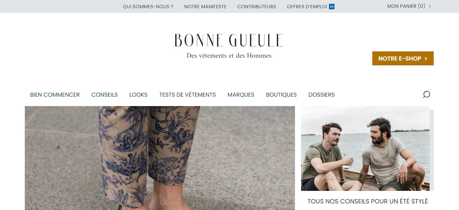 Site Bonne Gueule