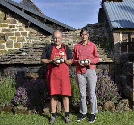 Clément et Patricia, créer un site de ferme