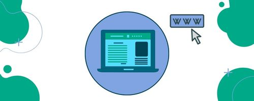 How to create a website with a domain name?