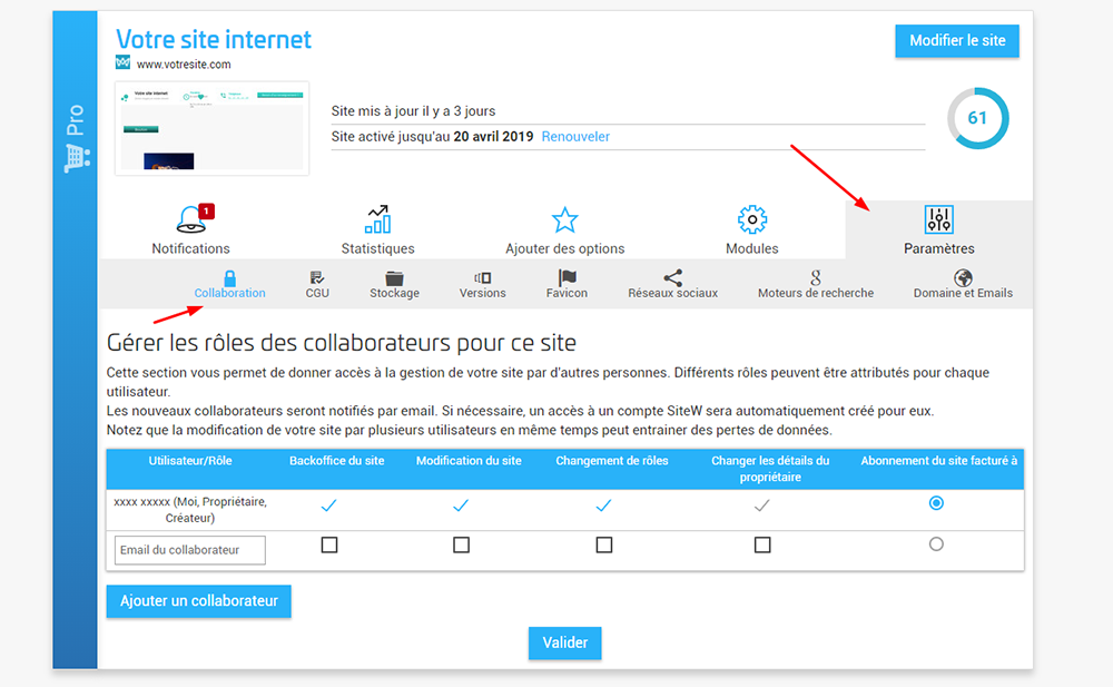 Créé son site internet