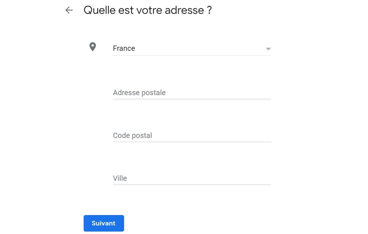 Entreprise Google Maps