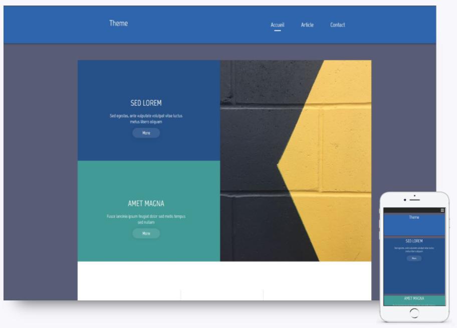 sitew responsive design