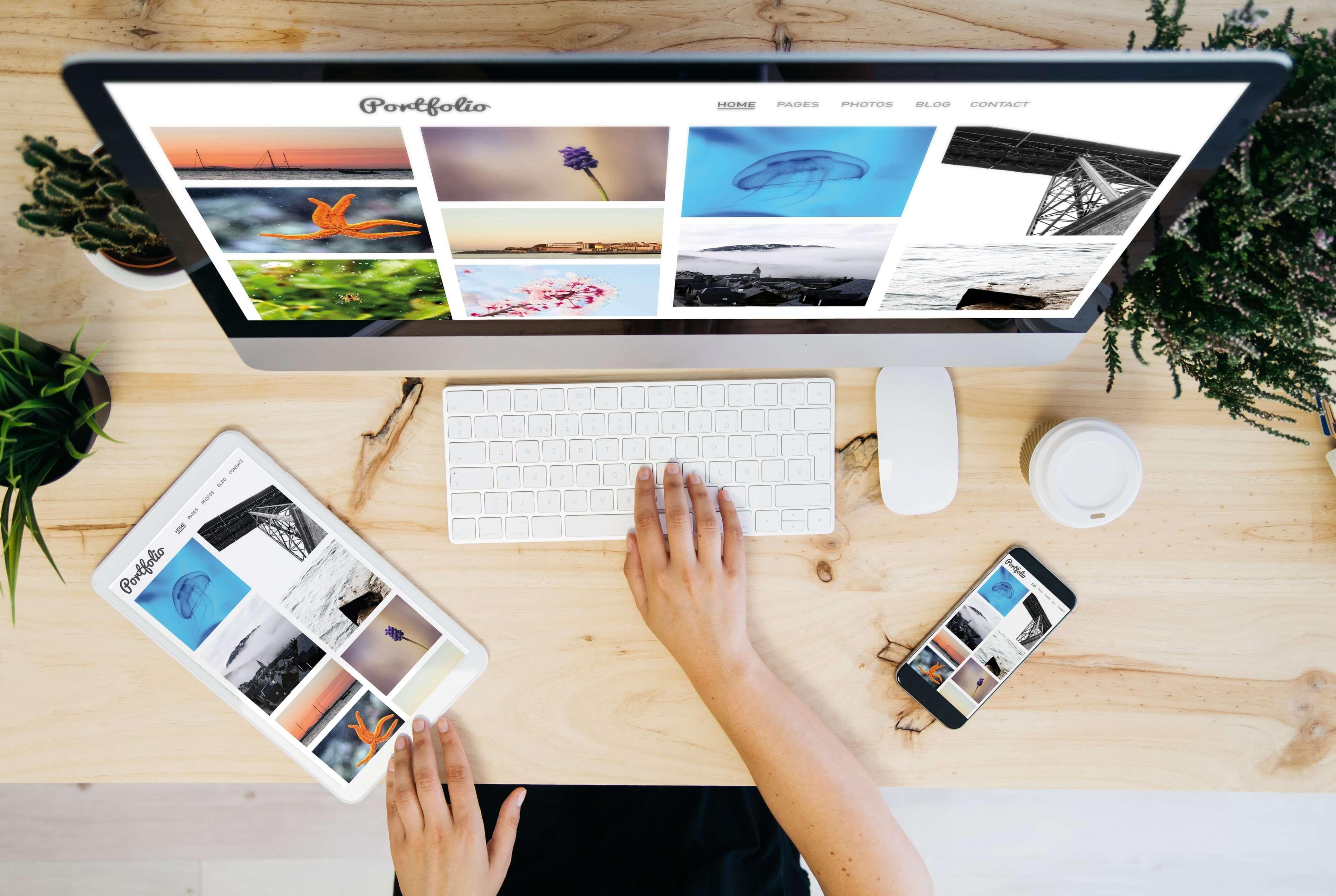 Créer votre portfolio en ligne