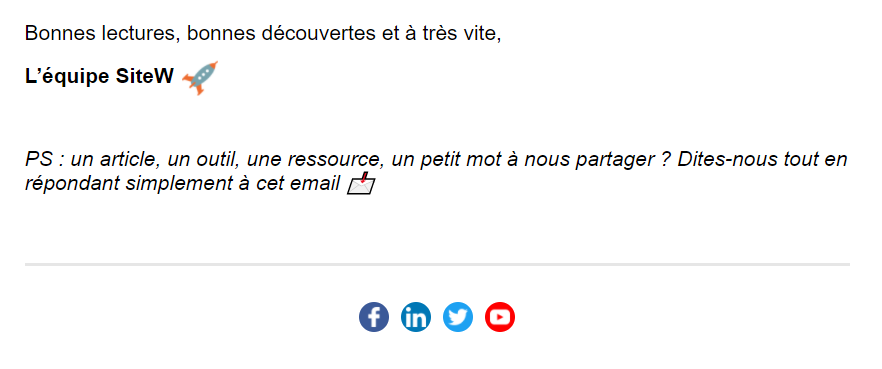 Exemple de mail