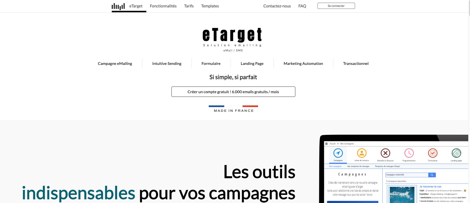 E target