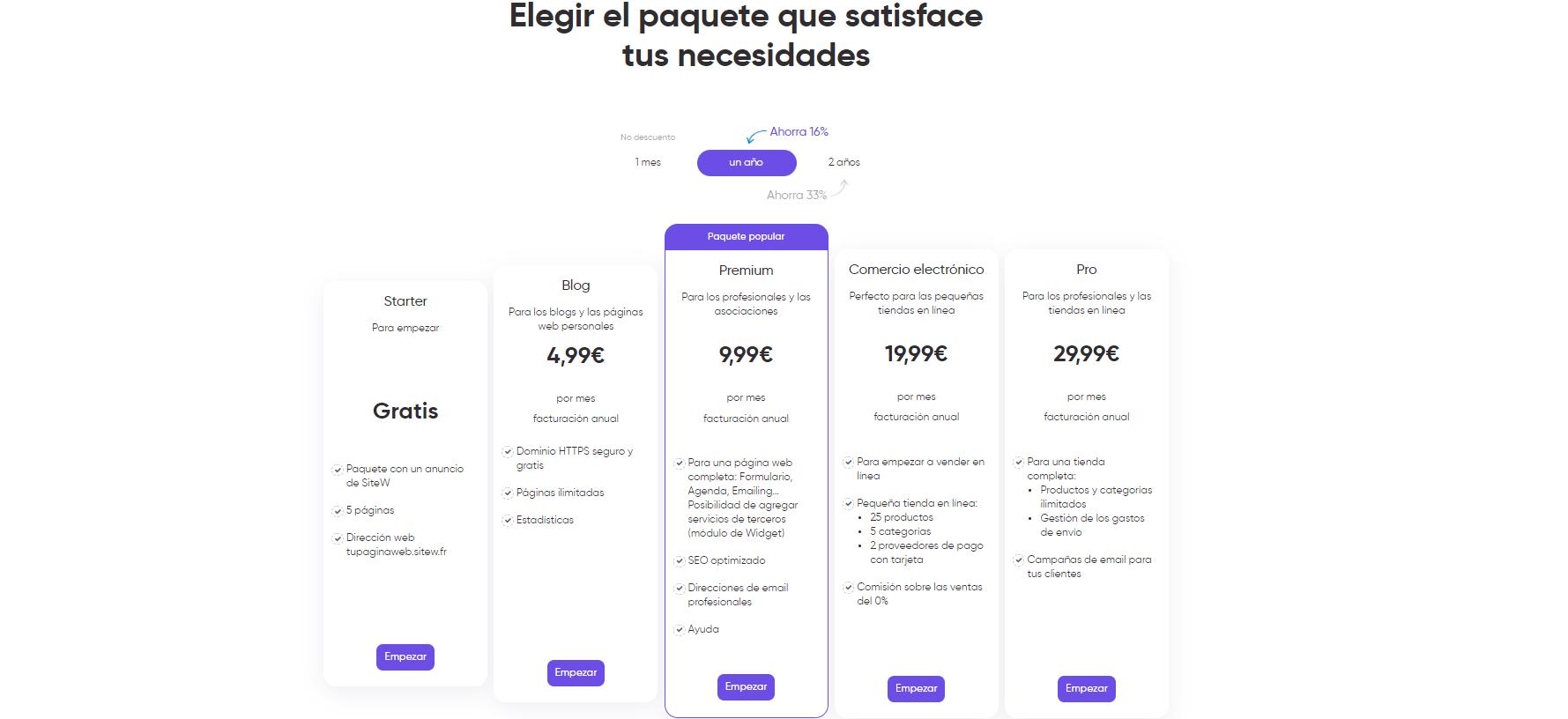 precio sitio web farmacia
