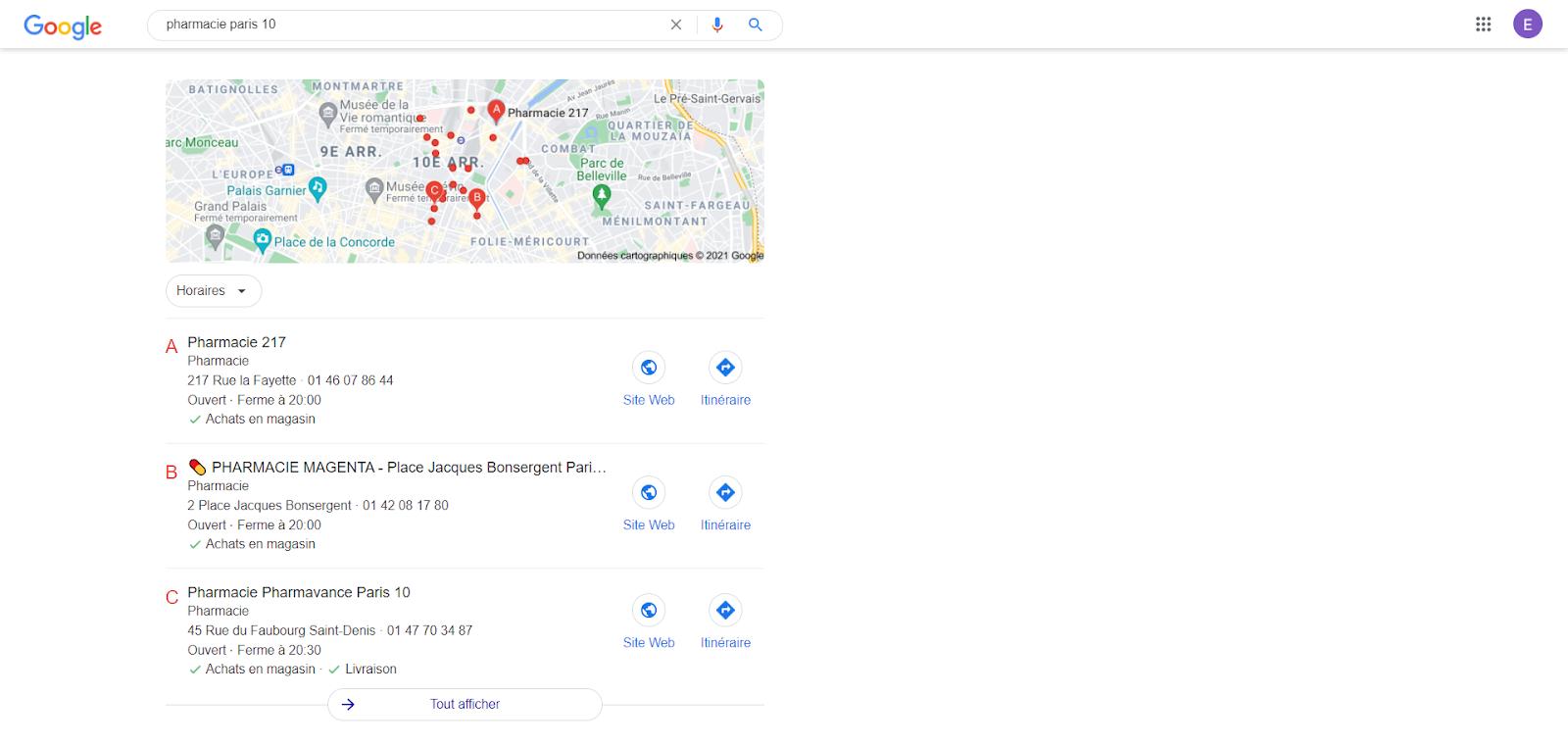 google maps sitew