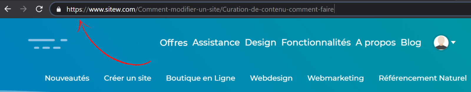 exemple protocole https sitew