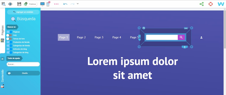 Como crear una pagina
