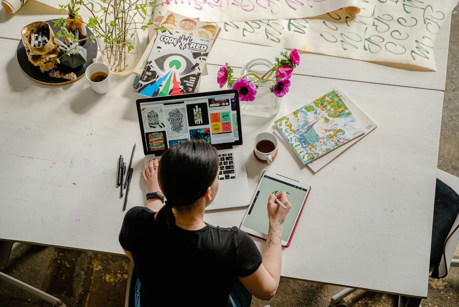 Créer un site design