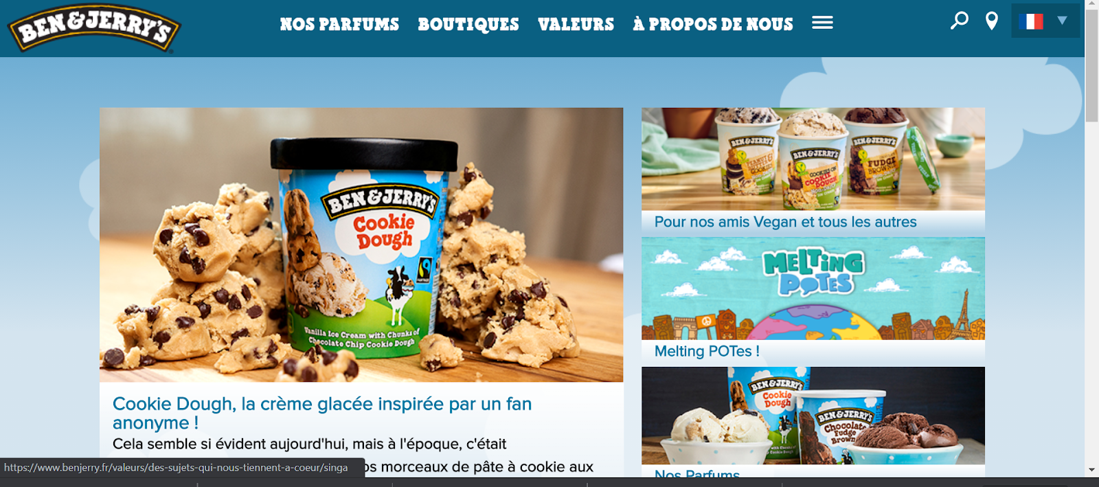 storytelling ben and jerrys