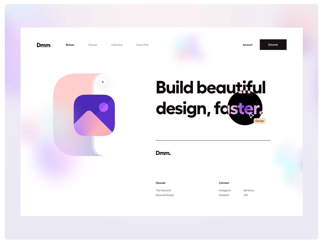 Webdesign 2021
