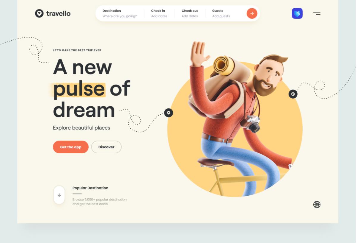 Tendance webdesign