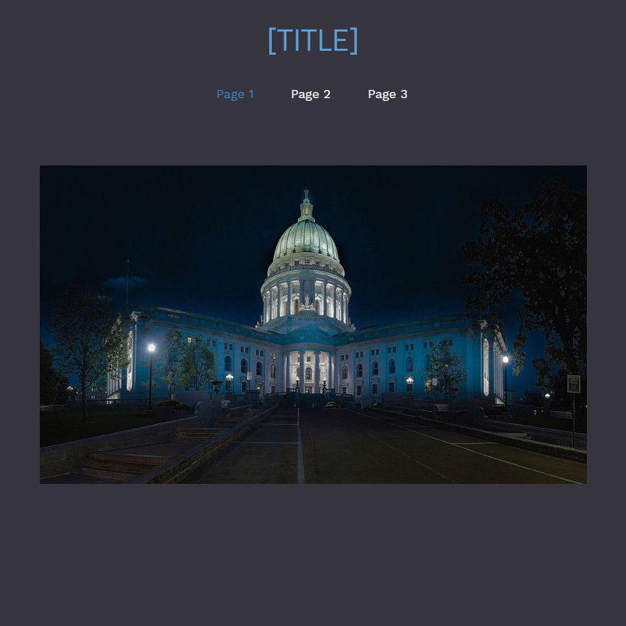 Plantilla para la creación de páginas web sobre Vibe dark